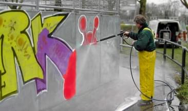 graffiti verwijderen harderwijk