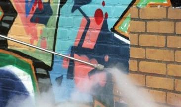 graffiti verwijderen nijkerk